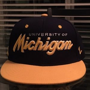 Michigan Snap-Back Hat